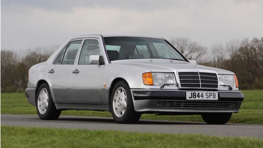 Do You Want Mr. Bean's Mercedes 500E?