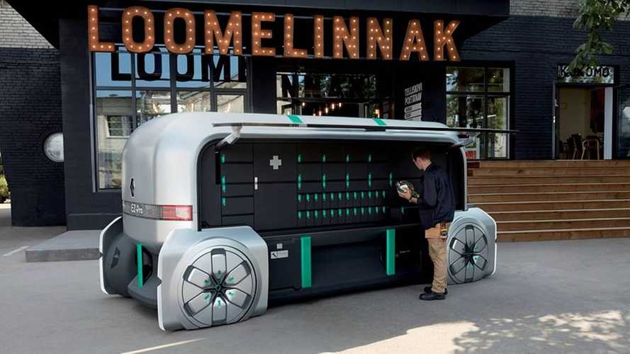 Renault EZ-Pro Electric Concept Imagines Autonomous Delivery Future