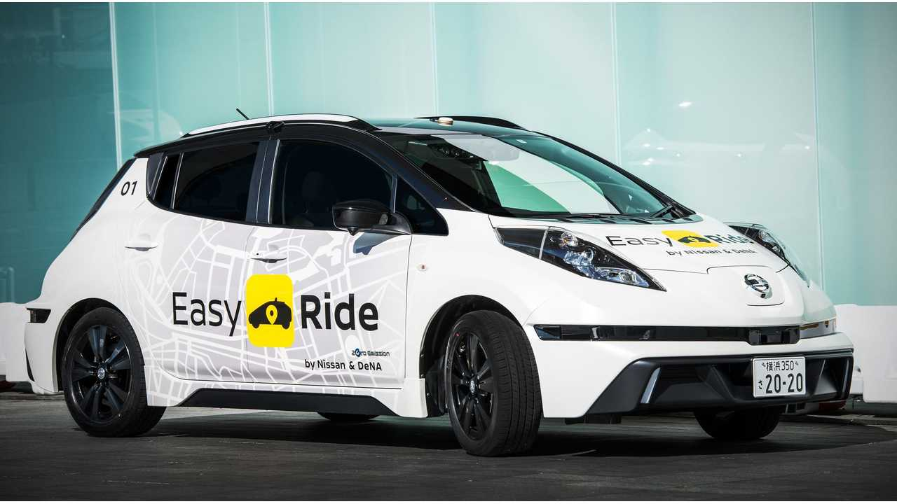<em>Nissan and DeNA to start Easy Ride robo-vehicle mobility service trial</em>