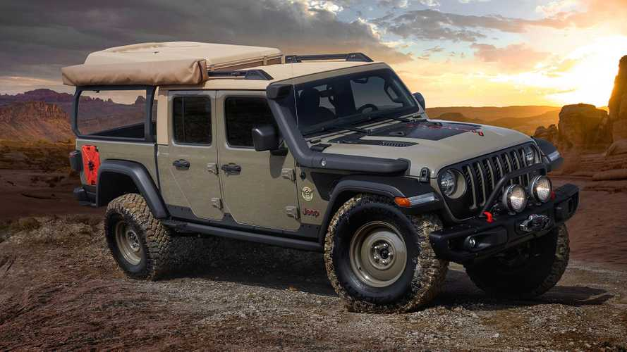 Jeep Gladiator Wayout Concept