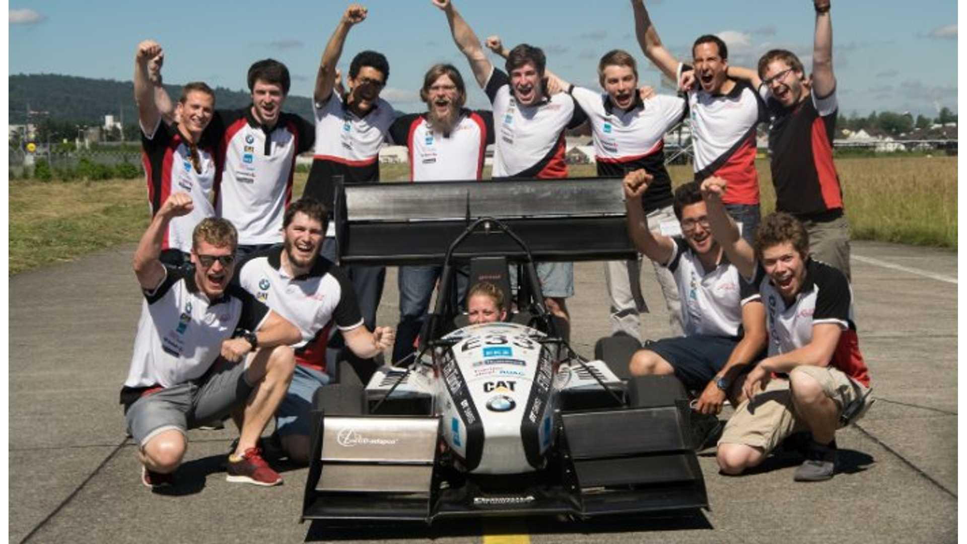 100 Kph To Mph >> Ev Race Car Sets 0 62 Mph World Record 100 Km H In 1 513