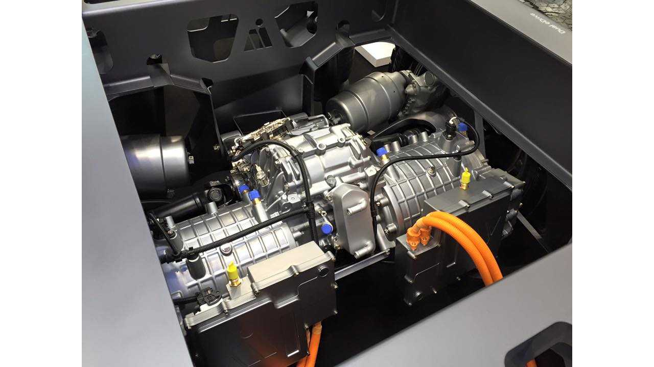 Kreisel Electric's powertrain