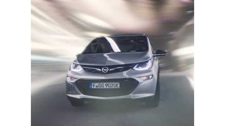 Opel Releases New Ampera-E Video