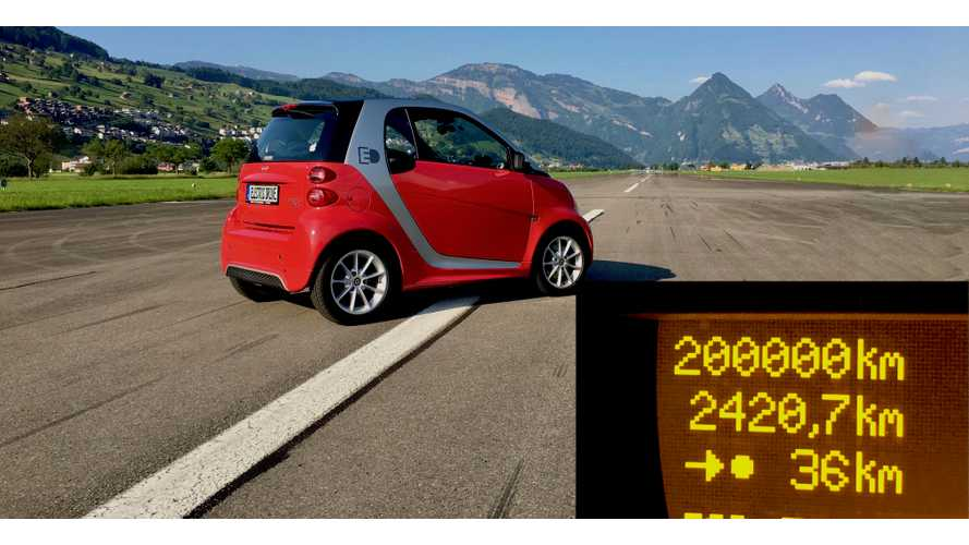 2013 Smart ForTwo Electric Battery Health Still Strong At 125,000 Miles