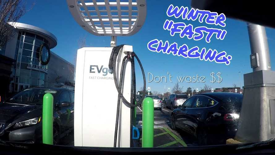 Chevy Bolt Winter Fast Charging: Cold Versus Warm Battery: Video