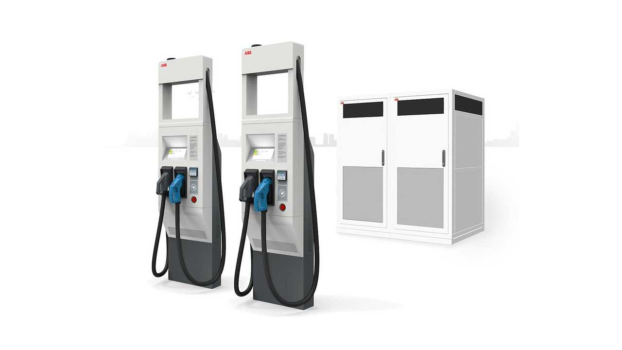 ABB Terra HP High Power fast charger (350 kW)