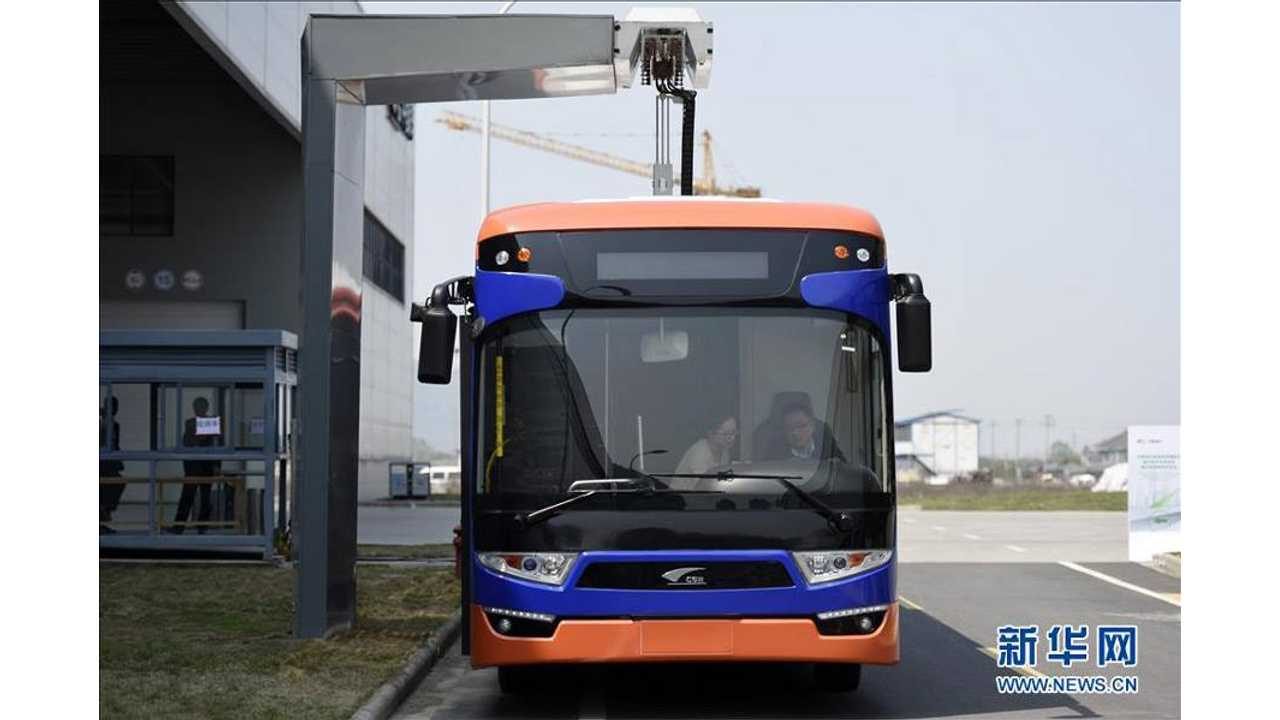 Meet The World's Quickest Charging Electric Bus