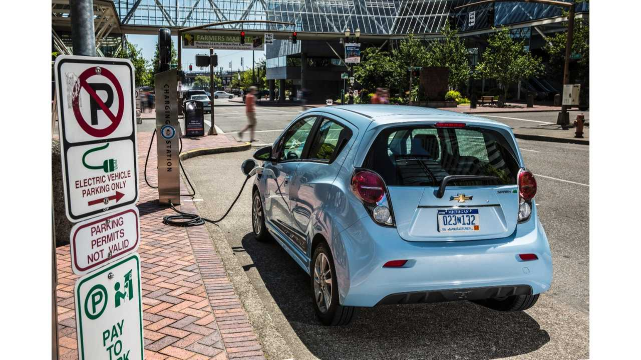 2016 Chevrolet Spark Ev To Be Available In Ontario Quebec And B C Canada
