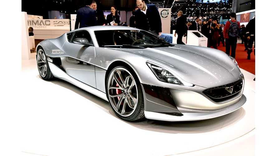 Rimac Concept_One Ups Performance: 0-100 km/h In 2.6 Seconds - Video
