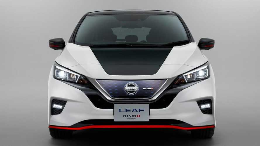 Nissan Fully Reveals New LEAF Nismo Concept