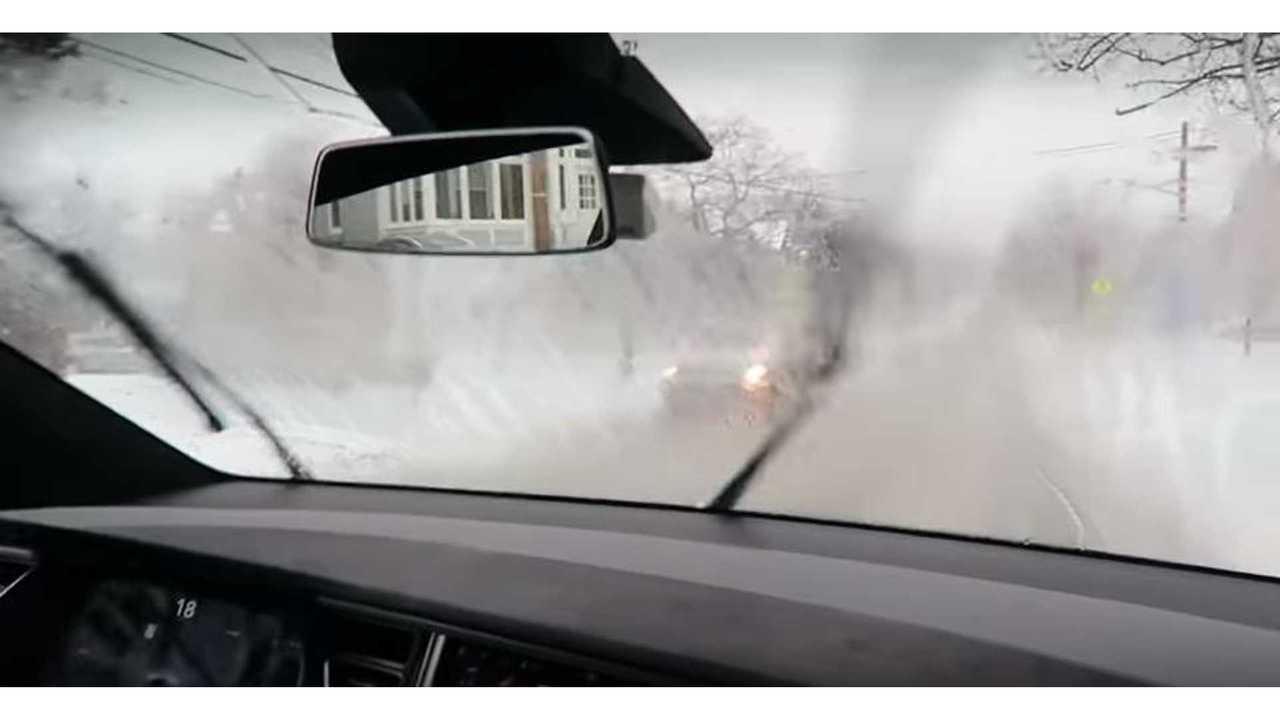 German Court Suspends Driver For Adjusting Wiper Speed In Tesla Model 3