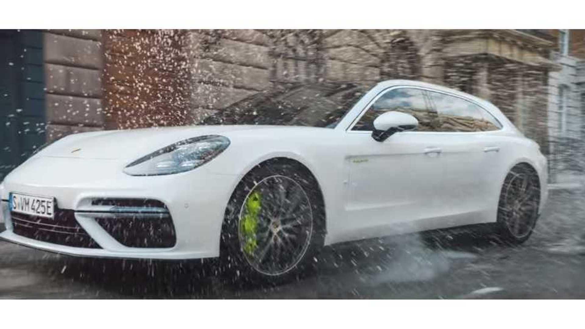 Porsche Panamera Turbo S E Hybrid Sport Turismo Debuts On Video
