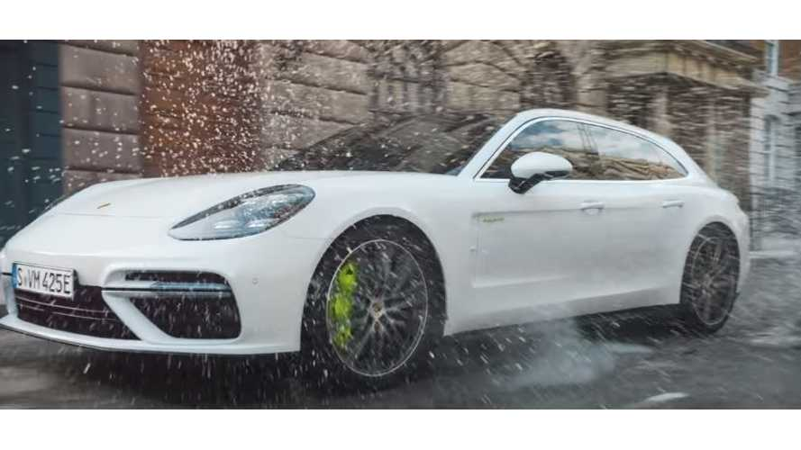 Porsche Panamera Turbo S E-Hybrid Sport Turismo Debuts On Video