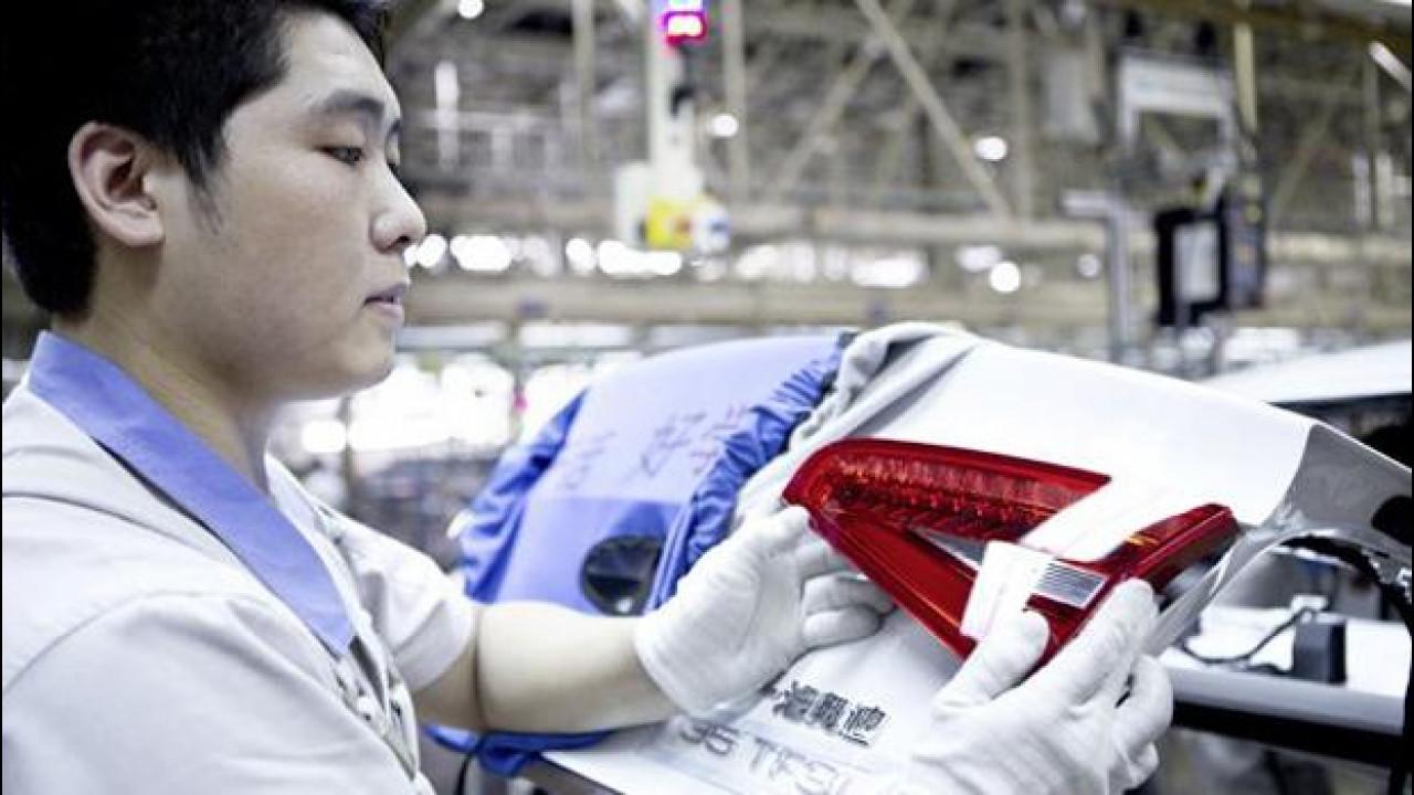 [Copertina] - Nel 2013 la Cina produrrà più auto dell'Europa