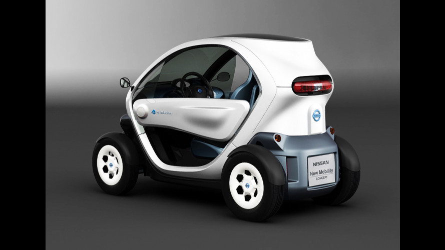 Nissan New Mobility CONCEPT, la Twizy giapponese