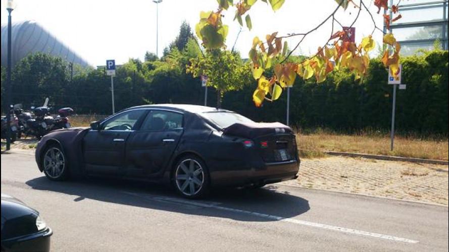 [Copertina] - Nuova Maserati Quattroporte, sorpresa negli ultimi test