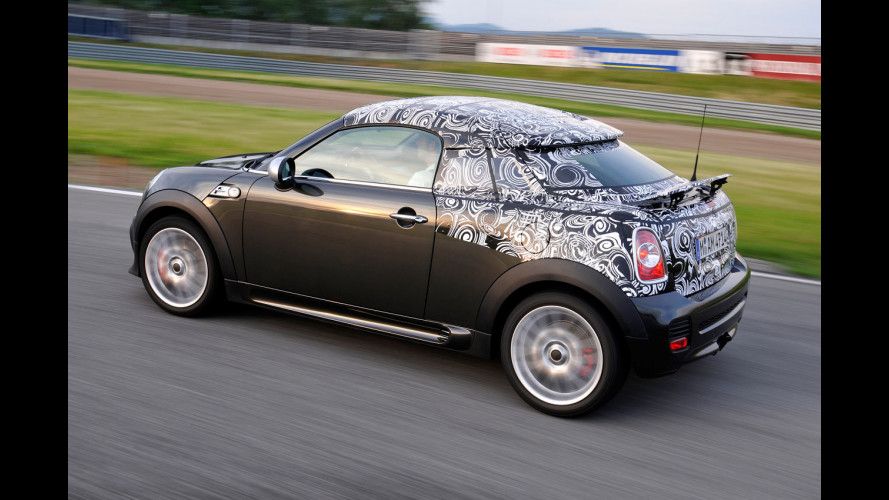 MINI Coupé: la biposto è quasi pronta