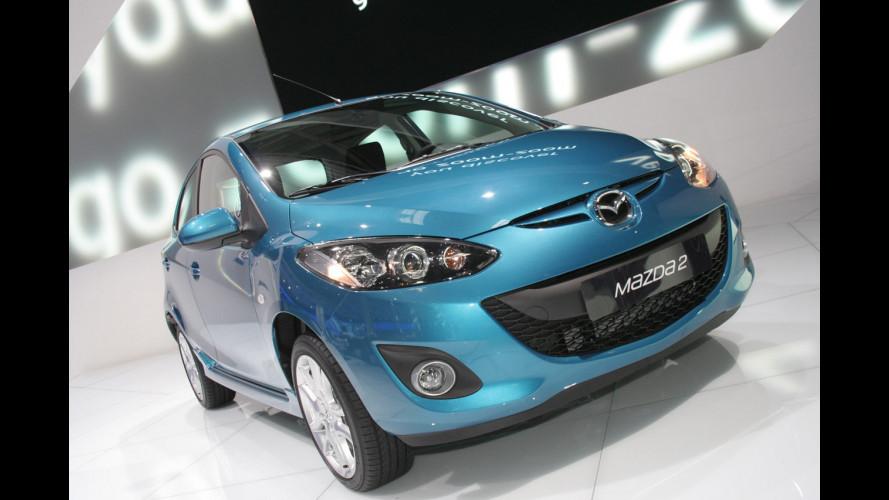 Mazda2 e il nuovo Diesel 1.6 a Parigi