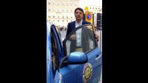 Il sindaco di Firenze prova la Nissan Leaf