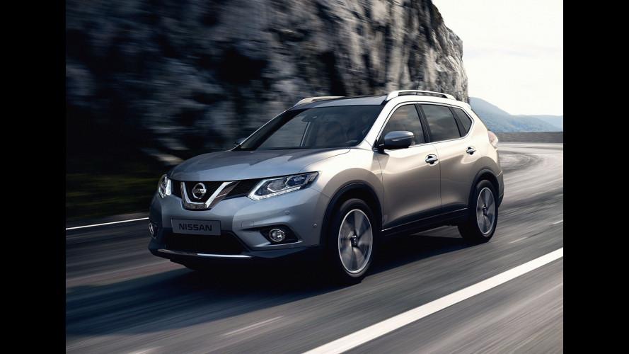 Nuovo Nissan X-Trail, prezzi da 27.500 euro