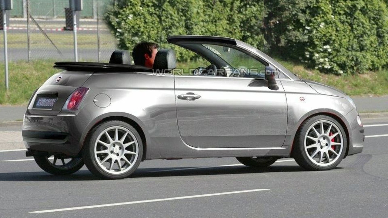 Fiat 500 Cabrio 1 Of 2 Motor1 Com Photos