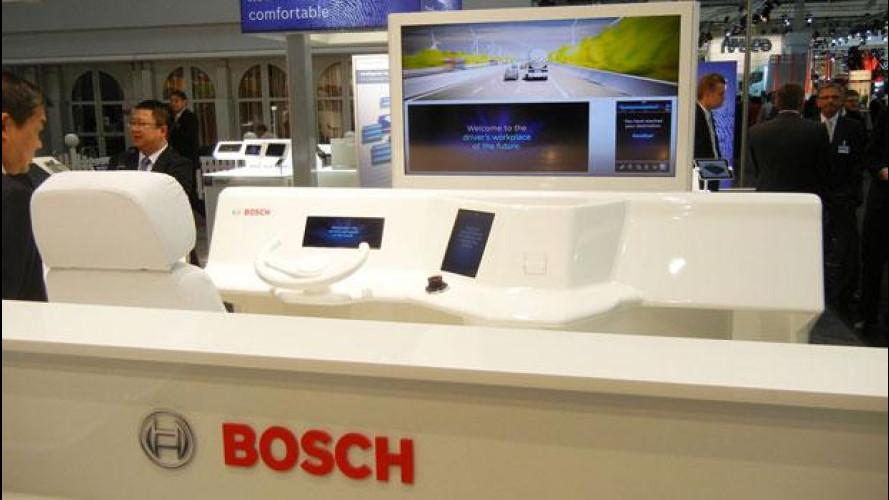 La plancia del futuro secondo Bosch
