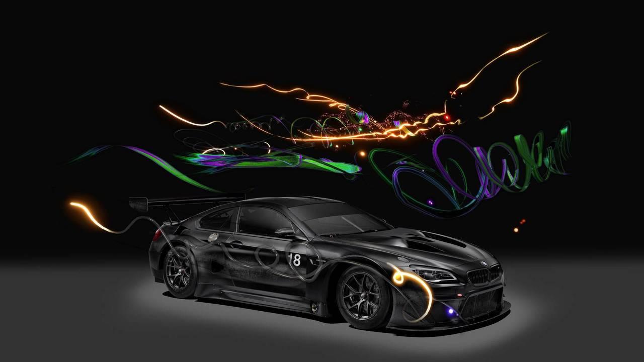 BMW M6 GT3 Art Car