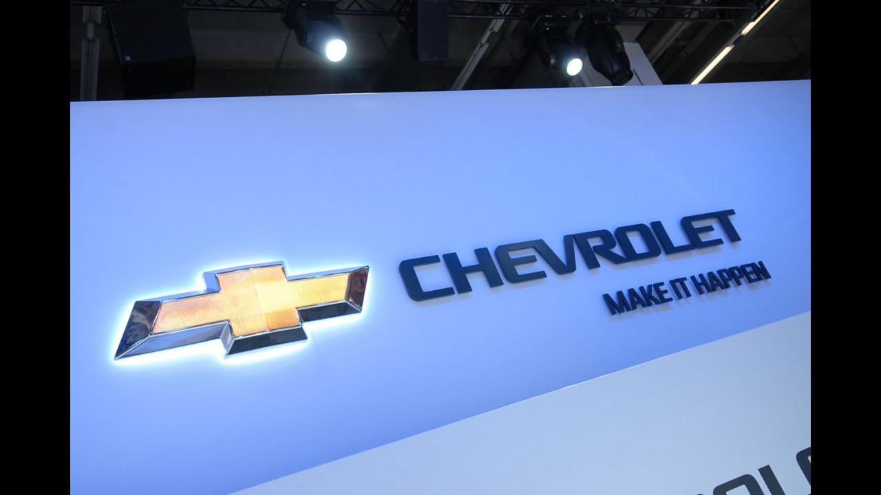 Chevrolet al Salone di Francoforte 2011