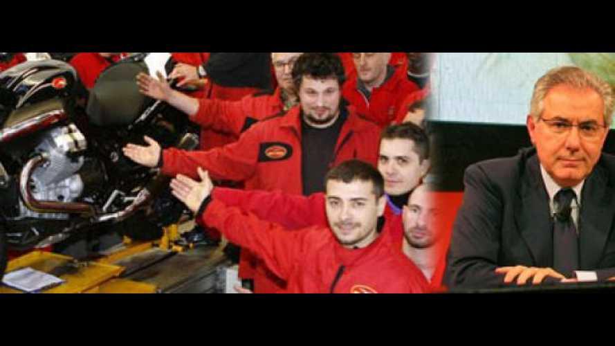 Moto Guzzi: la produzione resta a Mandello