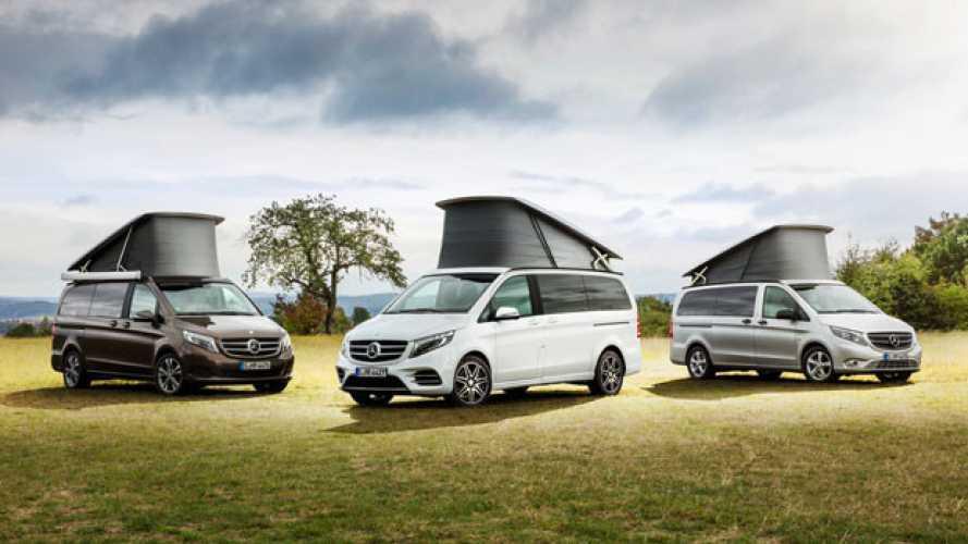 Mercedes-Benz al Salone del Camper di Parma