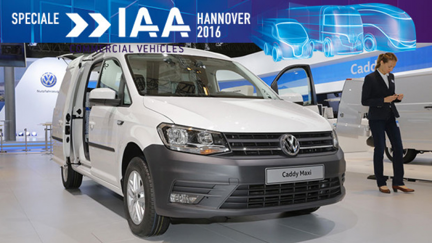 IAA Hannover 2016, Volkswagen Caddy Edition 35