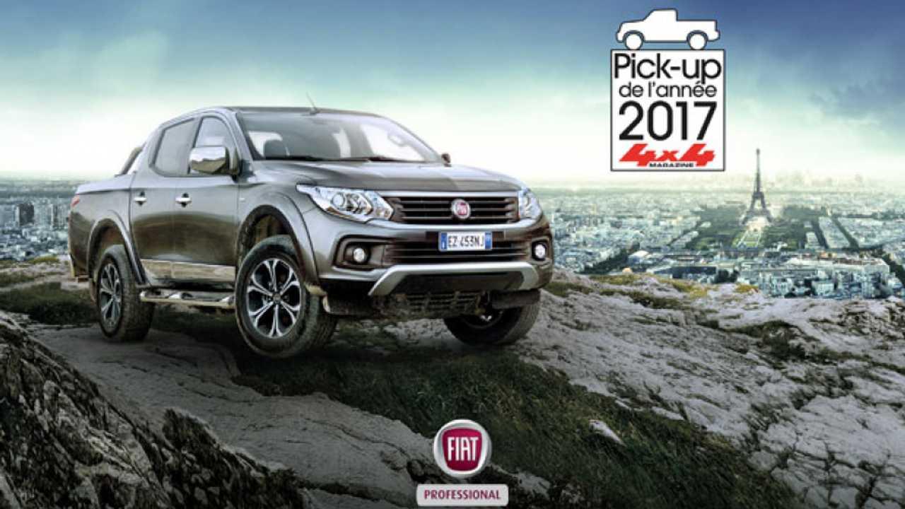 Fiat Fullback pick-up francese dell'anno