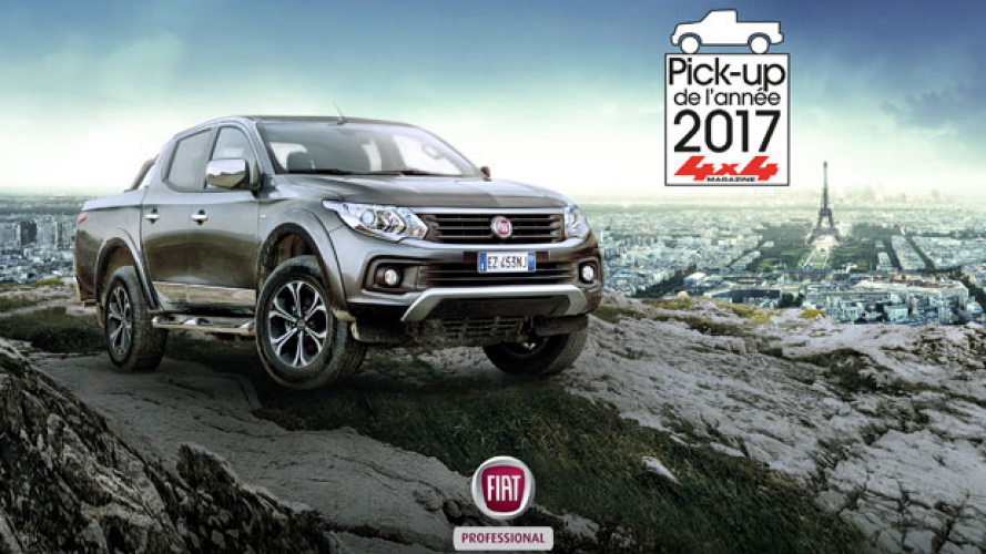 Fiat Fullback pick-up francese dell'anno