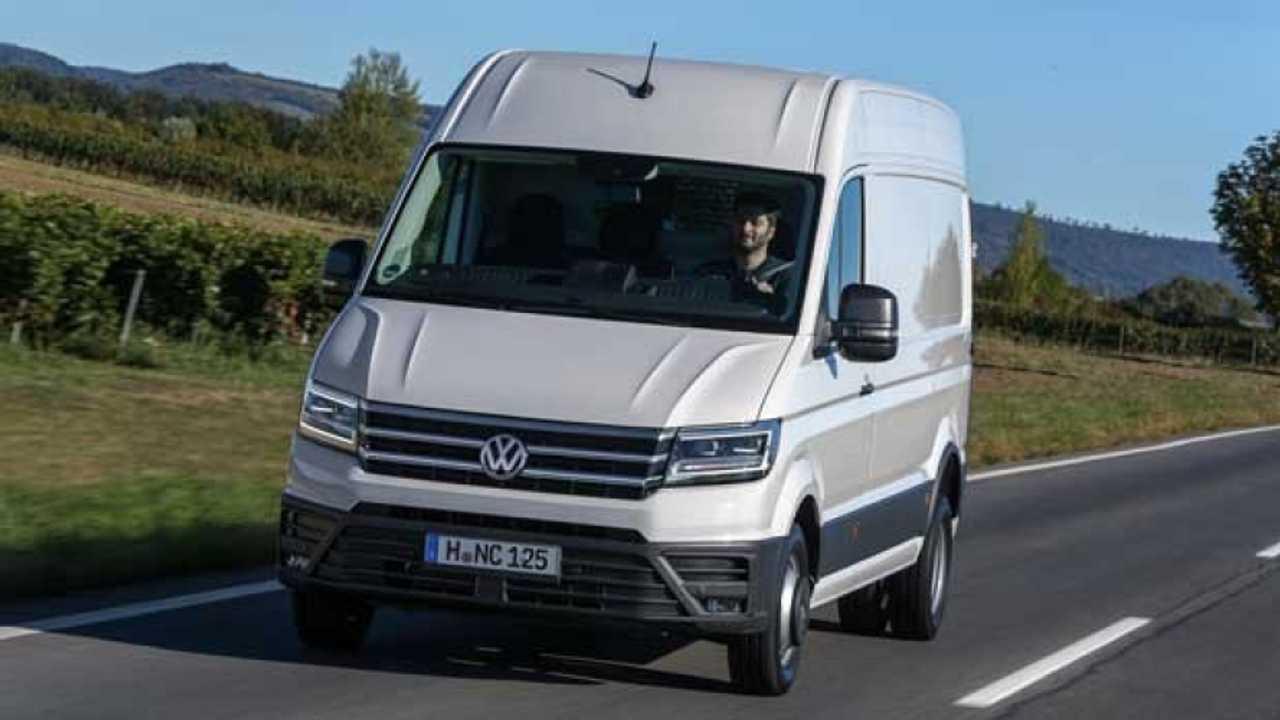 Nuovo Volkswagen Crafter ora anche trazione posteriore e 4MOTION