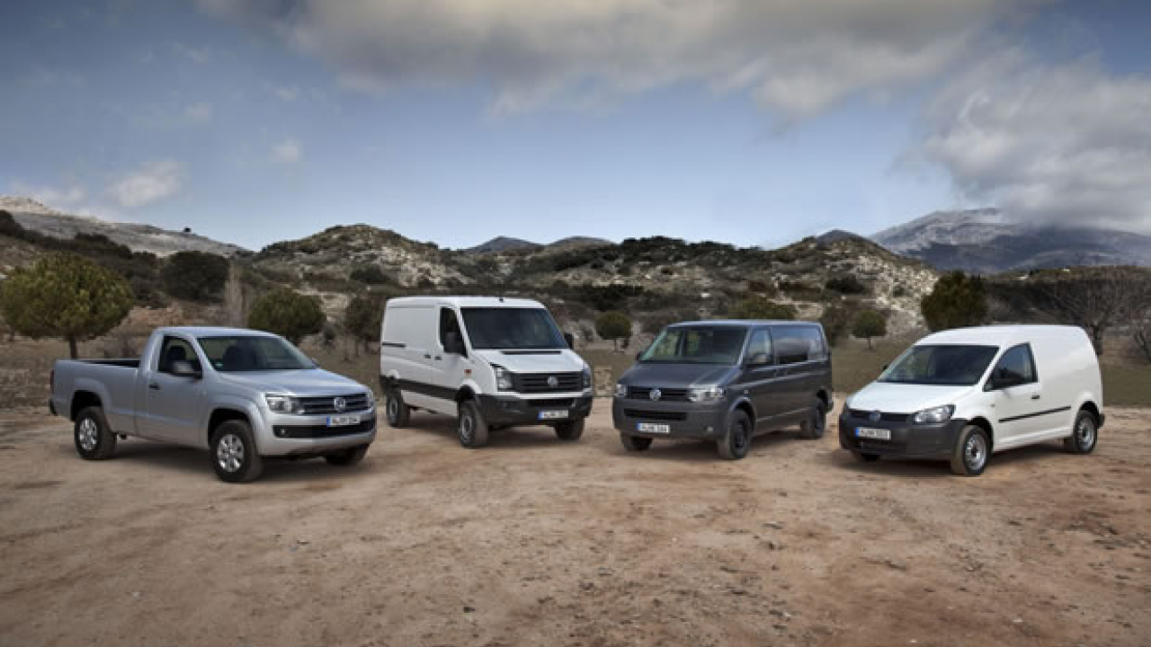 Volkswagen, cresce ancora il mercato dei commerciali