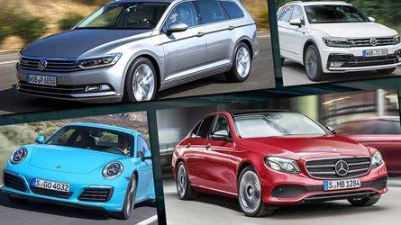 Die meistverkauften Autos im Jahr 2018 (bisher)