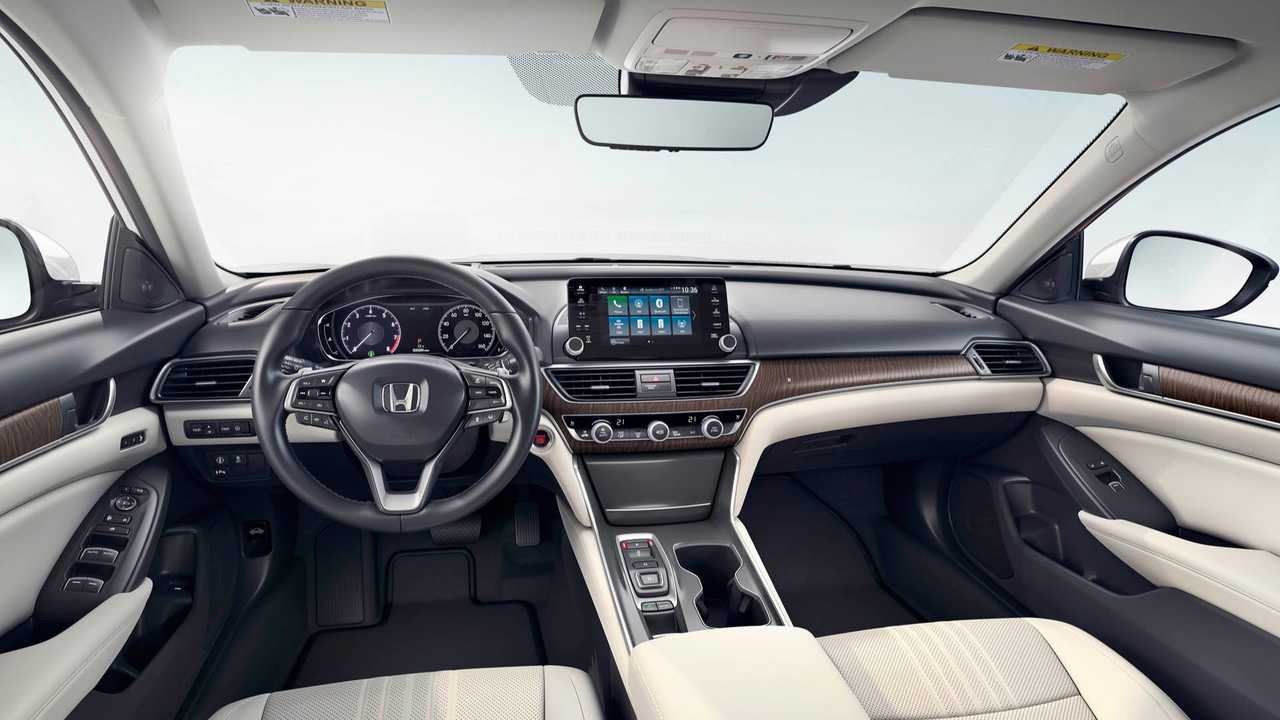 Interior do Honda Accord