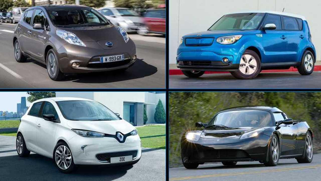 Mosaico coches electricos