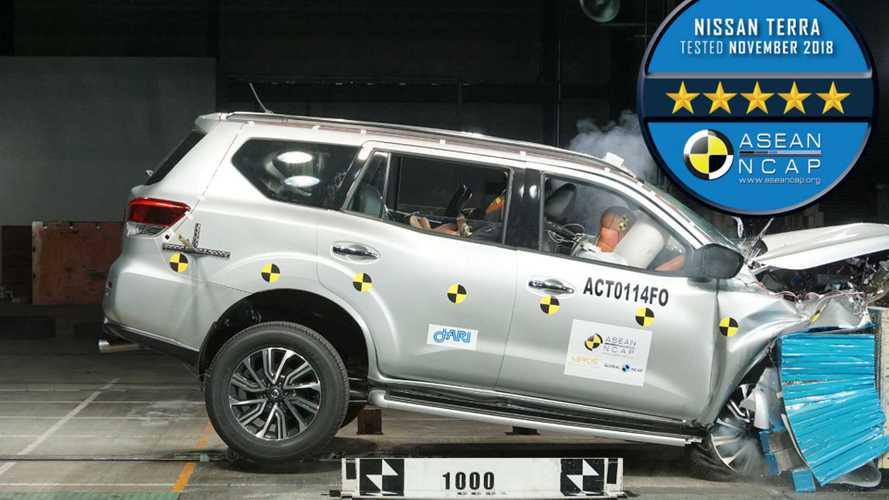 Nissan Terra, SUV da Frontier, recebe nota máxima em teste de impacto