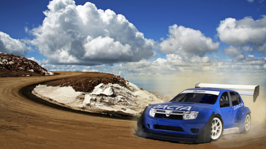 Dacia Duster a Pike's Peak