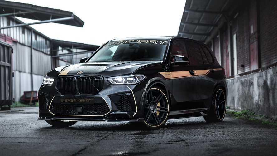 Manhart MHX5 800: Krasse Kraftspritze für den BMW X5 M Competition