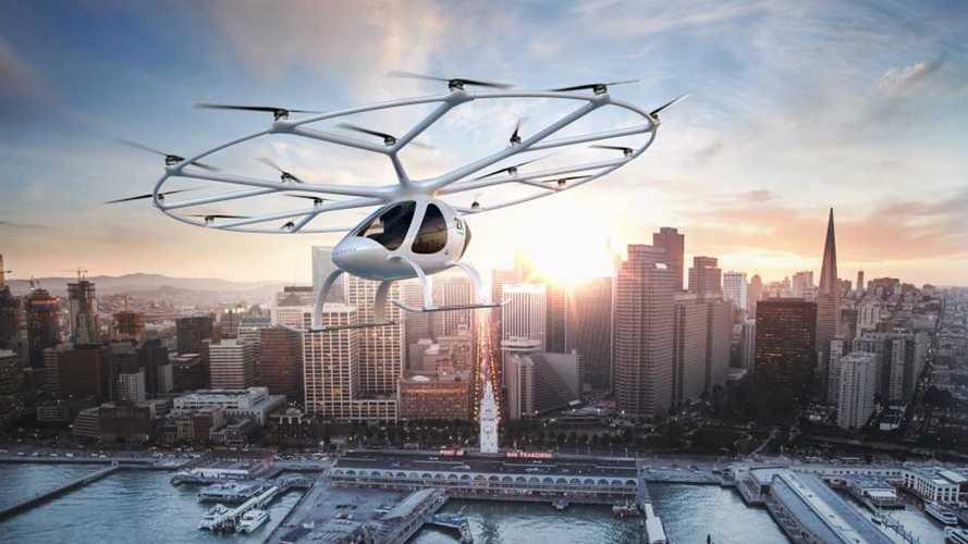 Volkswagen valuta un progetto di auto volanti per la Cina