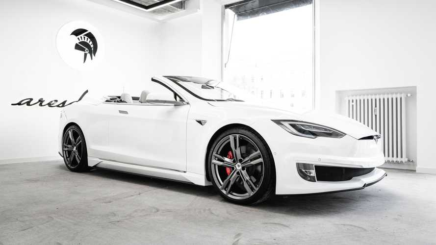 Tesla Model S Cabriolet by Ares