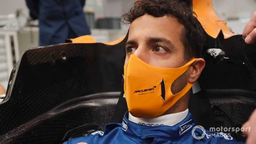 Ricciardo's snug McLaren fit showcases fine art of F1 seat fit