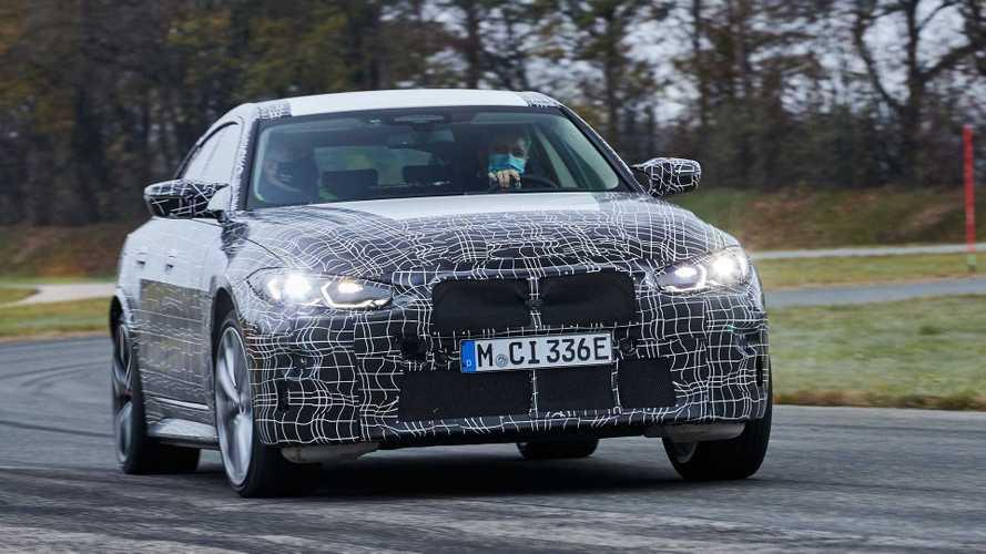 2022 BMW i4 Geliştirme Fotoğrafları