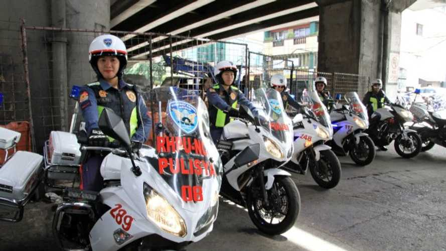 The Philippine Police Is Looking For Civilian Volunteer Riders