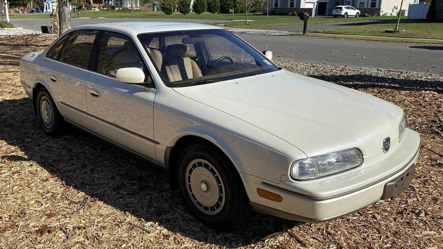 Someone Just Bought The Most Expensive 1992 Infiniti Q45 In The Country