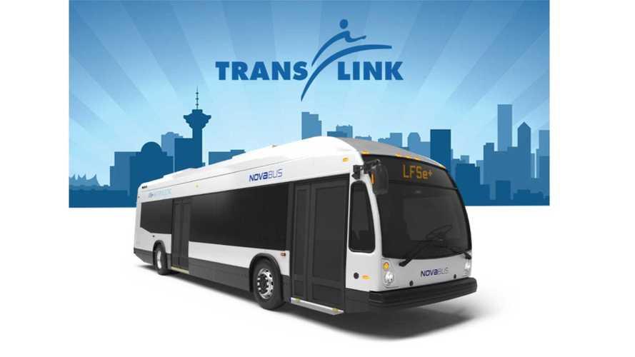 Vancouver's TransLink Orders 15 LFSe+ Electric Buses