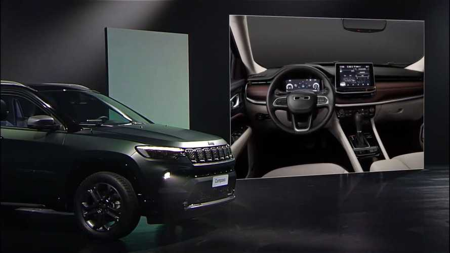 Jeep Compass restyling anticipata in un video