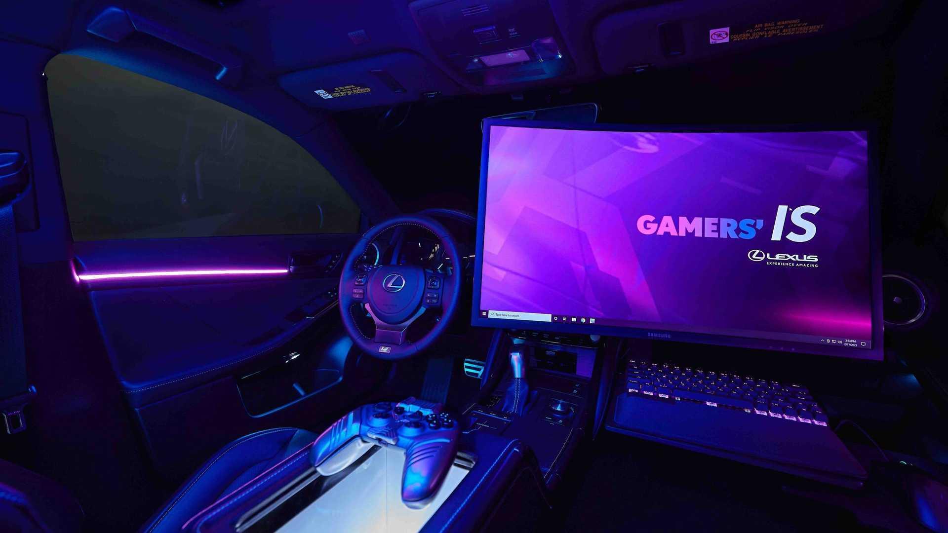 Странные товарищи: Lexus и Twitch создают идеальный игровой автомобиль
